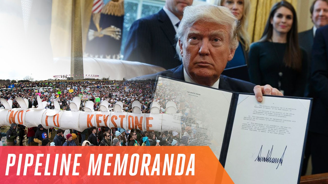 Keystone XL and Dakota Access pipelines controversy explained thumbnail