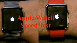 watchOS 3 v watchOS 2: Speed Test