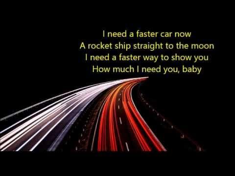 Música Faster car
