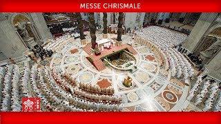 Pape François - Messe chrismale 2019-04-18