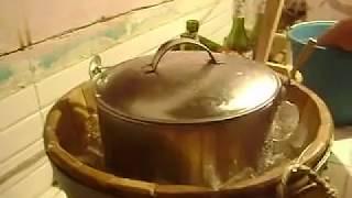 video como hacer nieve de garrafa parte 1