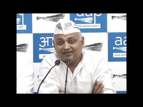 AAP Leader Somnath Bharti Briefed on Amritsar Train Accident Issue