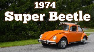 1974 Volkswagen Super Beetle 1600: Regular Car Reviews