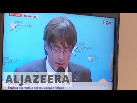 Catalonia's Carles Puidgemont faces arrest