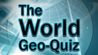The World Geo Quiz - Elaxi games Gameplay by Magicolo