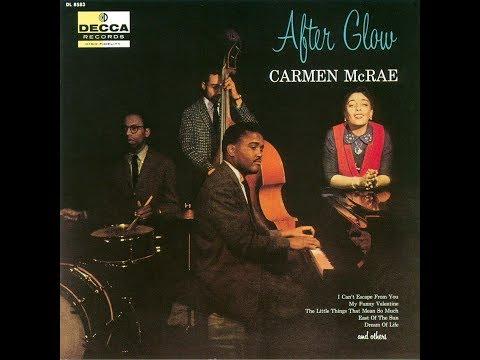 My Funny Valentine  -  Carmen McRae