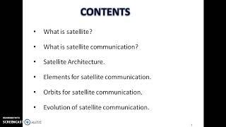 Satellite communication _introduction by Gurjit singh