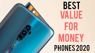 """Top 5 Best """" Value For Money"""" Phones for 2020 !"""