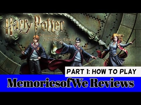 Review - Harry Potter Miniatures Adventure: Part 1 (How to Play)