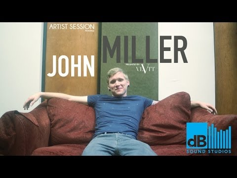 John Miller - Almost Certain live at dB Sound Studios
