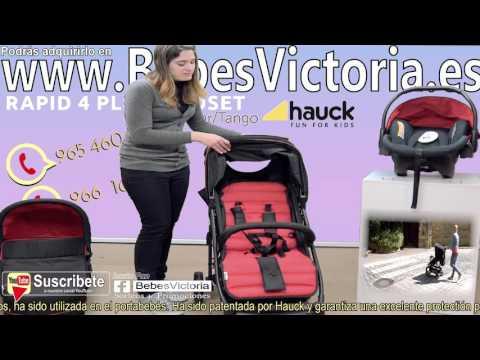 Hauck cochecito 3 piezas barato