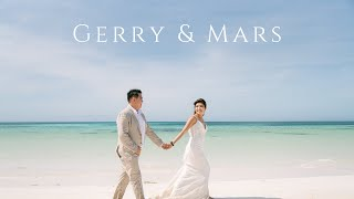 An Intimate Amanpulo Island Wedding of Gerry & Mars