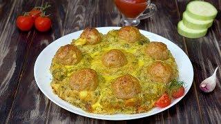 Гнезда из кабачков с фаршем - Рецепты от Со Вкусом