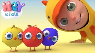 Цыплята Пи-Пи - Как Говорят Животные? - Песни Для Детей