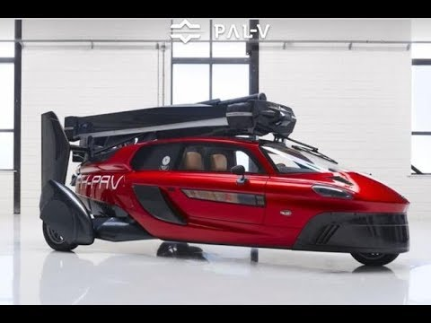 Flying Car - 2019 Pal -V Liberty - World's First Flying Car You Can Buy Now