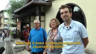 Travelers' Voice of Kyoto: KIYOMIZU DERA Area Interview013 Autumn09