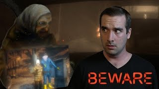 Beware Demo Ending? | Driving Horror Game - WE GET A PAINTING?
