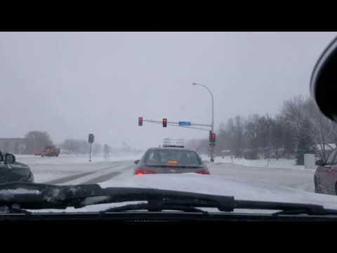 Minnesota 2017 Winter driving