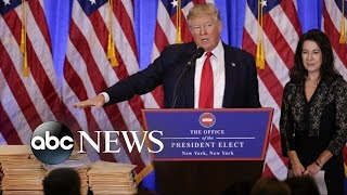 Trump First Press Conference Since Becoming President-Elect
