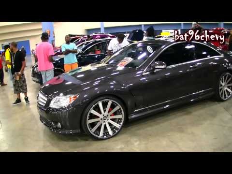 """Mercedes Benz CL63 AMG Lorinser Coupe on 22"""" Forgiatos Wheels - 1080p HD"""
