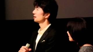 2011.07.08仲村トオル@台北映画祭「行きずりの街」QA2/3