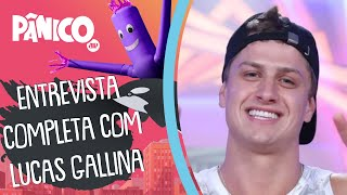 Assista à entrevista com Lucas Gallina na íntegra