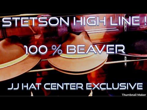 JJ Hat Center Exclusive ! STETSON HIGH LINE – 100% Beaver !!