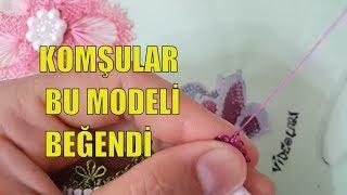 Komşular Bu Modeli çok Beğendi  Igne Oyası Modelleri Yeni  Needle And Thread