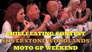 Chili Eating Contest - Moto GP - Silverstone Woodlands 2019