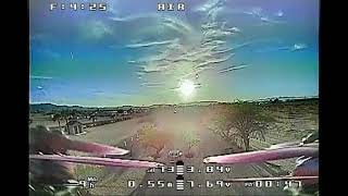 Learning to fly FPV - Windy Sunset at Golden Shores Veteran's Memorial