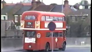London Buses-Finchley & Muswell Hill Garages+Routes 43 & 134, 1986