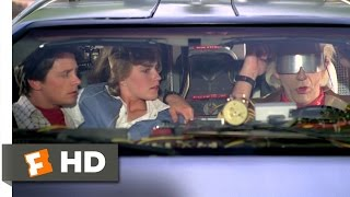 Back to the Future Part 2 (1/12) Movie CLIP - We Don't Need Roads (1989) HD