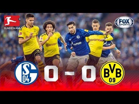 BORUSSIA SALVO PELA TRAVE! Veja os melhores momentos de Schalke 0 x 0 Dortmund na Bundesliga