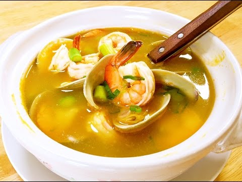 How to Cook Amazing Seafood Soup? CiCi Li