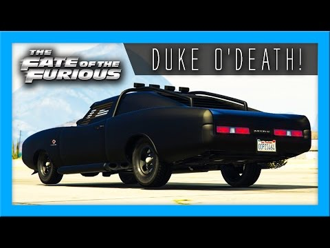FAST & FURIOUS 8 ROCKED!! | Cruising In The Duke O'Death - GTA Online
