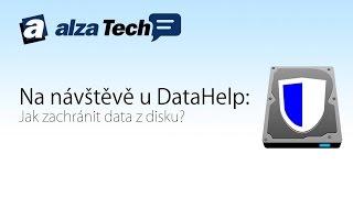 Na návštěvě u DataHelp: Jak zachránit data? - AlzaTech #333