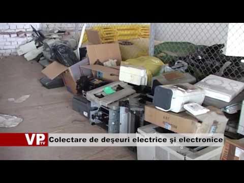Colectare de deşeuri electrice şi electronice