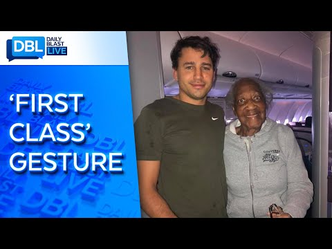 Stranger Gives 88-year-old Woman First-Class Seat