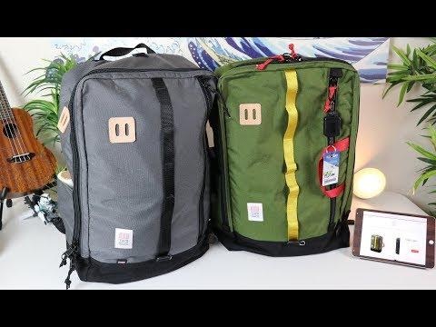 BEST BAG FOR ONE BAG TRAVEL (TOPO DESIGNS TRAVEL BAG)