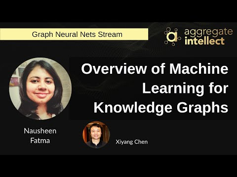 Overview of Machine Learning for Knowledge Graphs