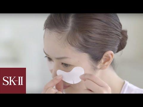 Face mask na may sagging balat