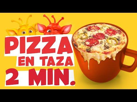 Pizza en Taza slide