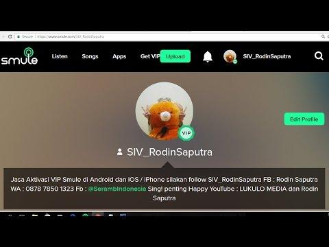 Video Cara Jadi Agen VIP Smule
