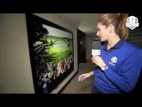 The 2014 Ryder Cup European Team Room