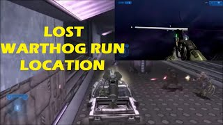 Halo 2 - Where Is The Lost Warthog Run Actually Located?