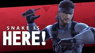 SNAKE IS HERE - Smash Ultimate
