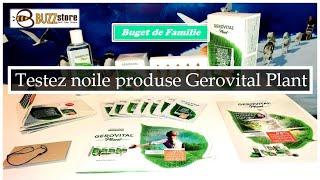Testez noile produse Gerovital Plant prin intermediul Buzzstore