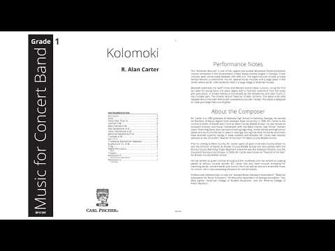 Kolomoki (BPS130) by R. Alan Carter