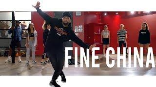 Chris Brown - Fine China   Class With Hamza