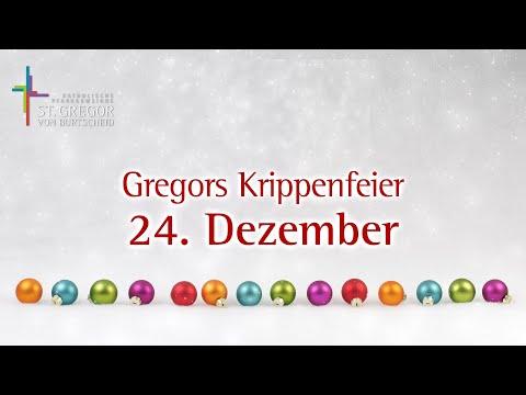 Gregors Krippenfeier